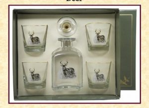 545_Deer_Decanter_Set