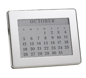 Sterling Silver Perpetual Calendar