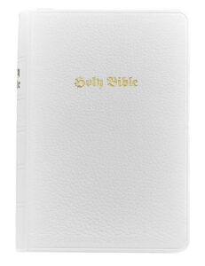 White Leather Bible